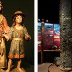 Fons dels Museus: Tobies i l'arcàngel Sant Rafel i una columna basàltica