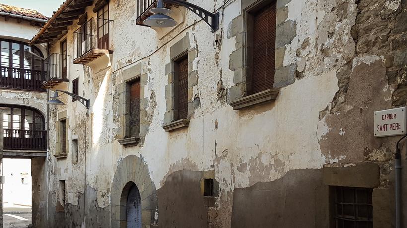 Arquitectura i urbanisme a la Garrotxa dels segles XIV i XVII