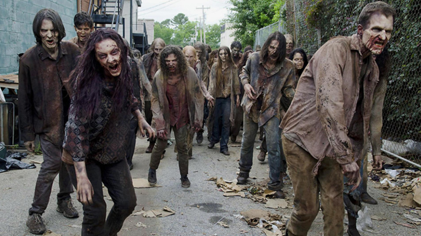 Literatura filmada: Walking Dead