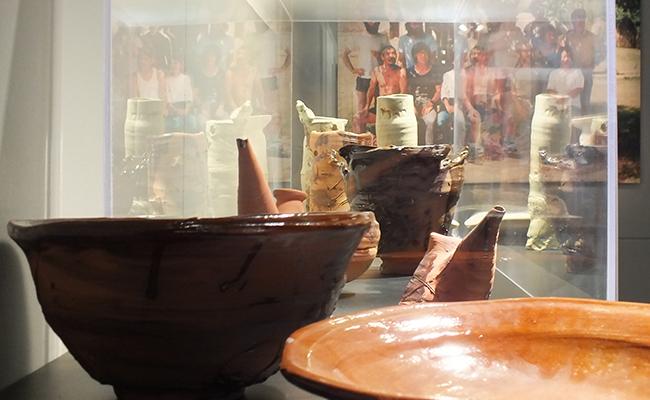 La Sala Oberta exposa la col·lecció de ceràmica japonesa contemporània més important del país.