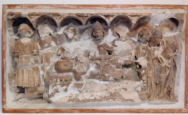 Relleu de Sant Andreu del Coll.