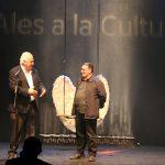 Pep Fargas ja llueix les Ales a la Cultura