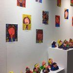 Els alumnes de l'Escola Municipal d'Expressió exposen les seves creacions