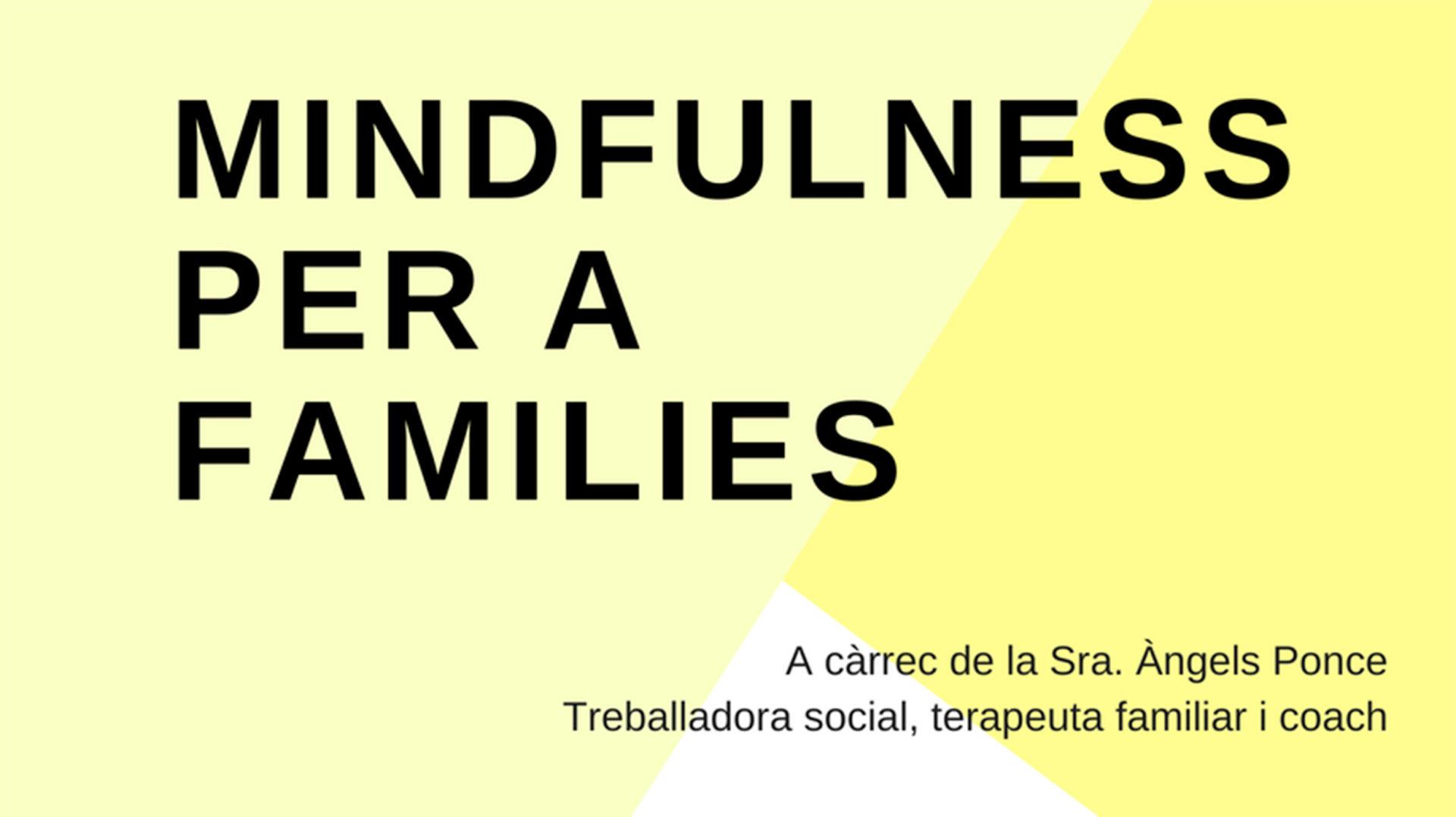 Mindfulness per a famílies