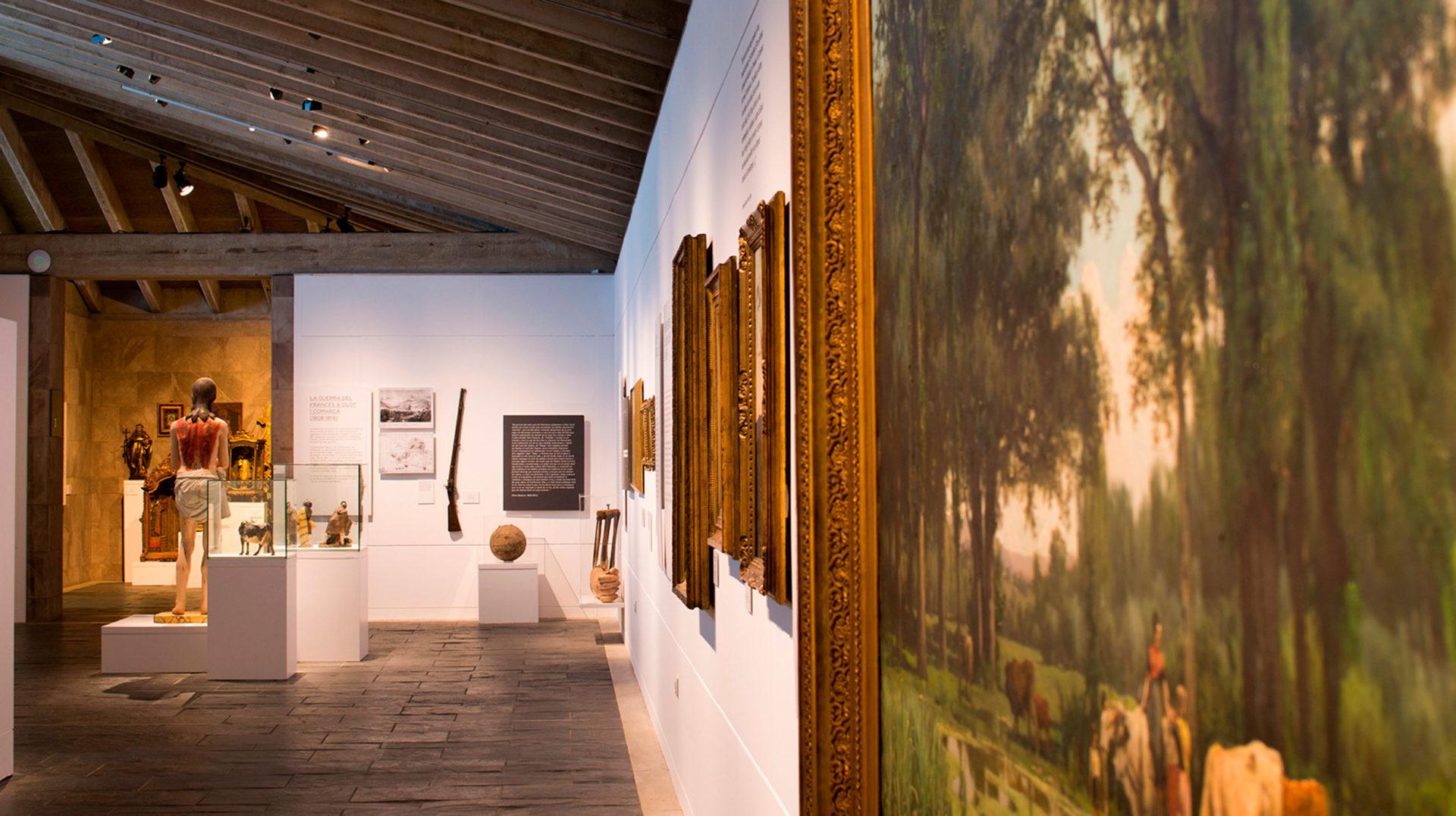 Presentació dels canvis en l'exposició semipermanent del Museu de la Garrotxa