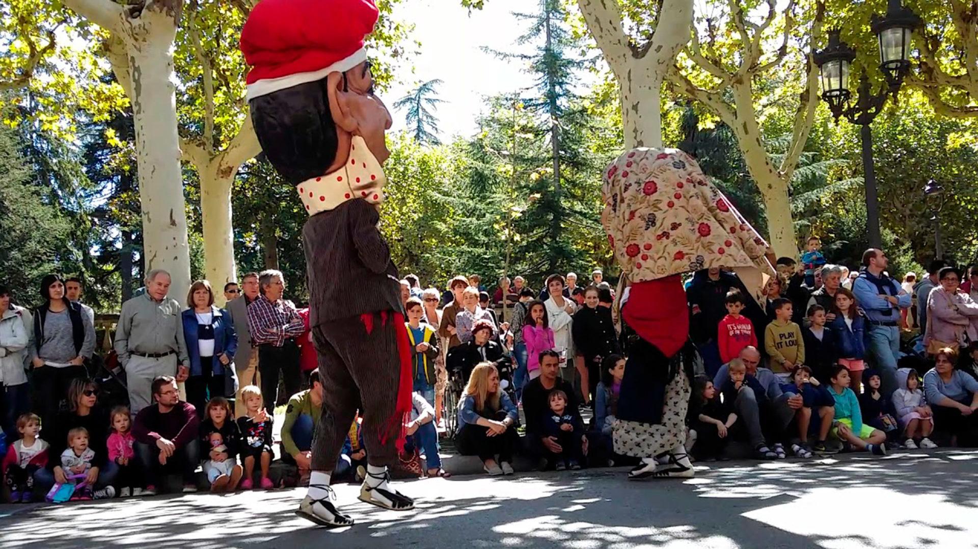 Ball de la faràndula del barri de Sant Ferriol
