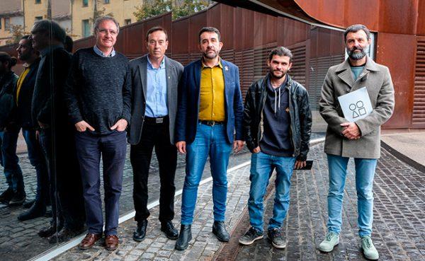 Guanyadors de les Beques Ciutat d'Olot 2018. Foto: Martí Albesa