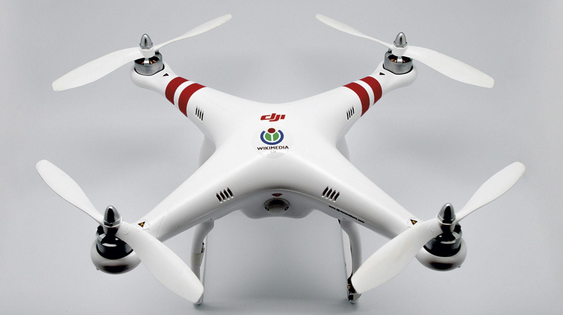 Un dron vist de prop