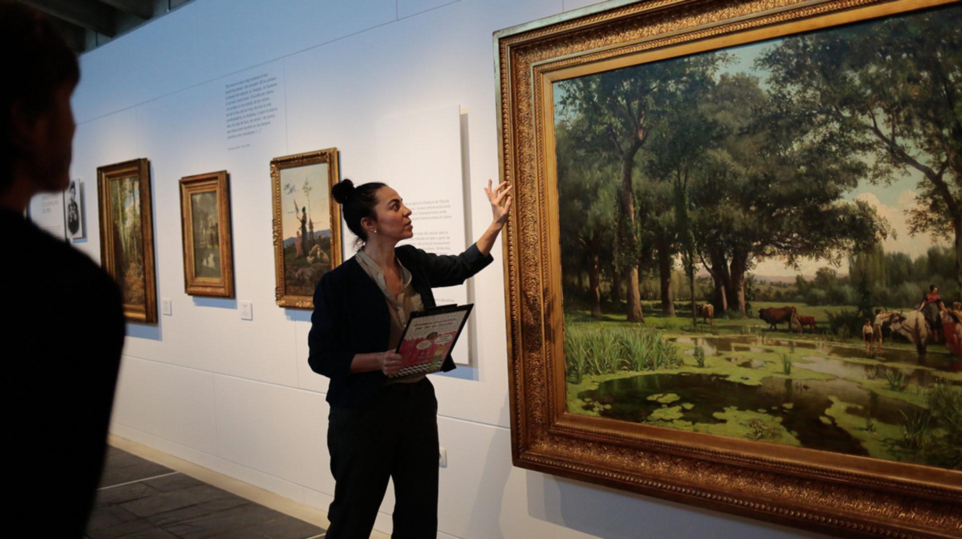 Arts i urts, reflexions d'una guia de museu