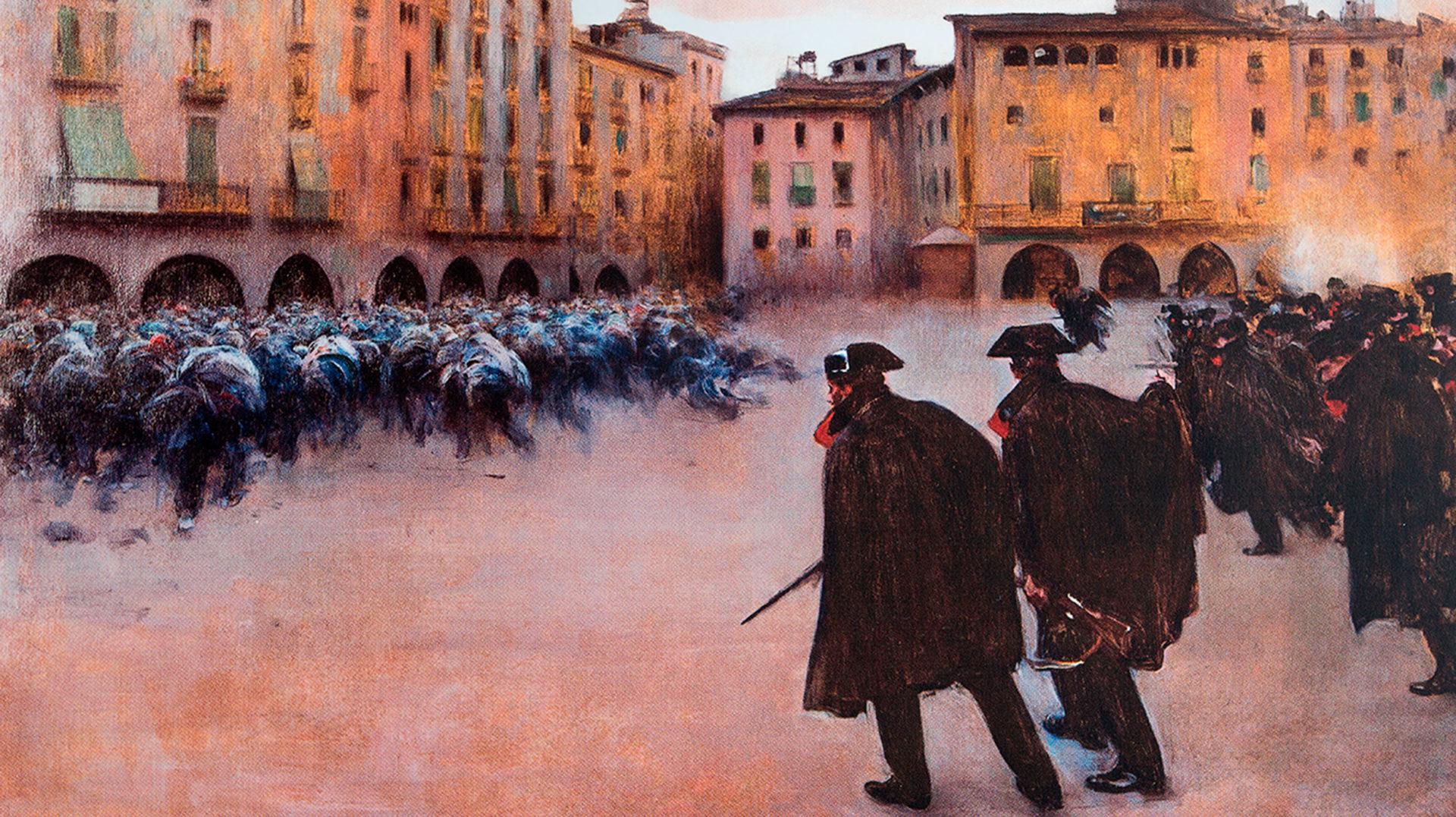 """La Nit dels Museus: """"L'altra Càrrega. Tableau vivant"""""""