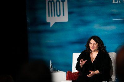 Michela Murgia, al MOT 2019. Foto: Martí Albesa.