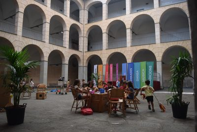 La terrassa del Museu, 2018.