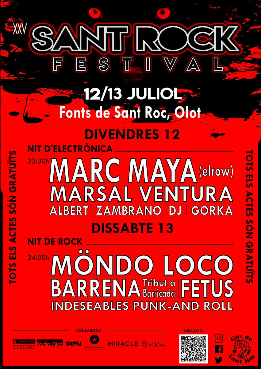 25è Sant Rock Festival.