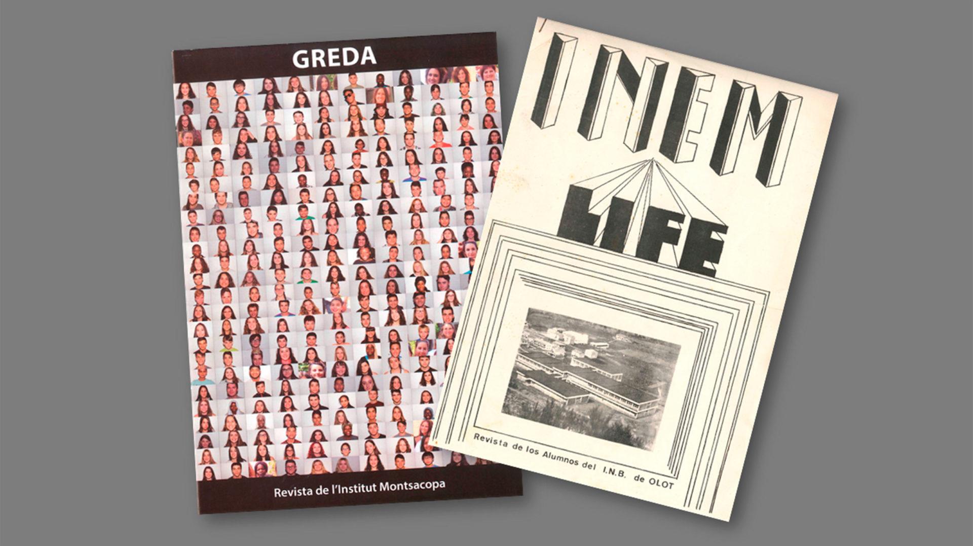 50 anys de revistes de l'Institut Montsacopa d'Olot