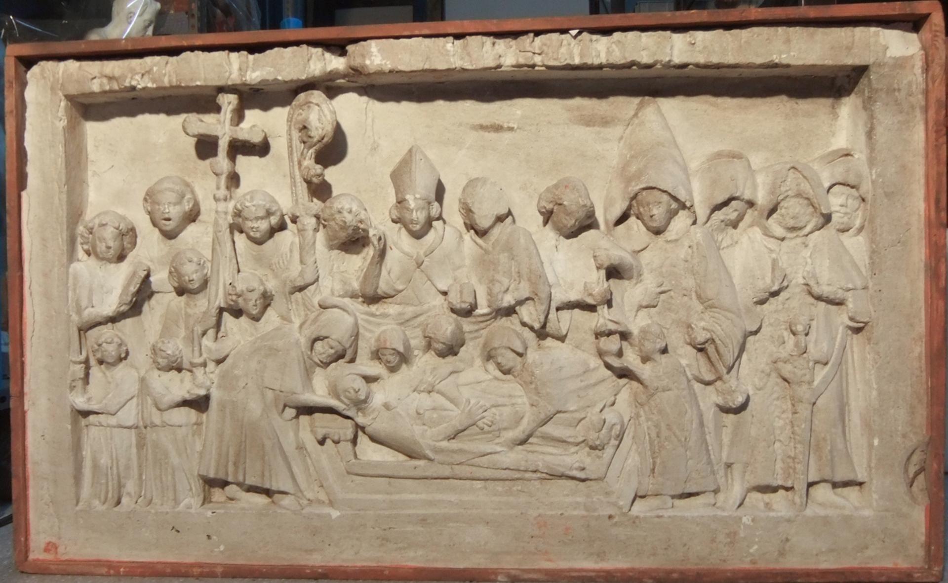 Santa Bàrbara de Pruneres tornarà a lluir una làpida sepulcral com la del 1936