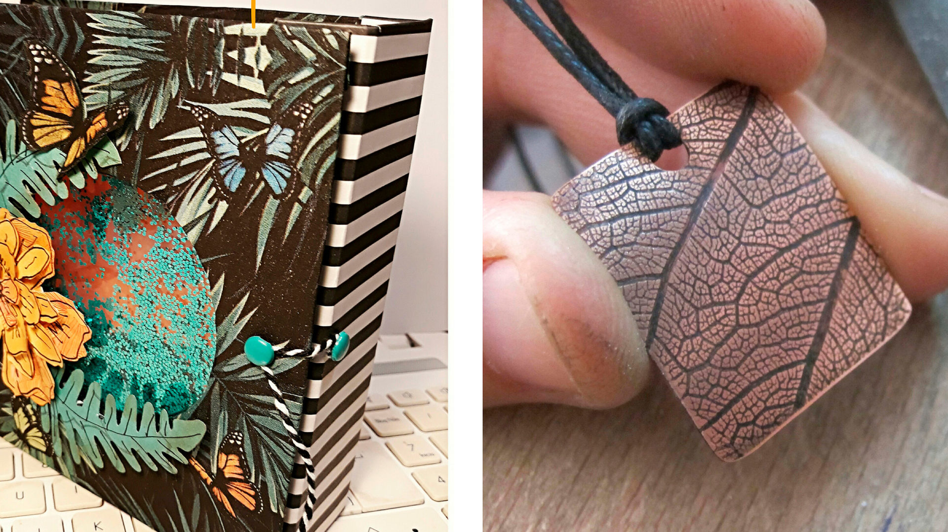 Ceràmica, scrapbooking, patchworking i joieria