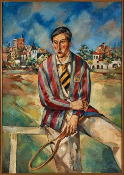 Tenista, de Ramon de Capmany.