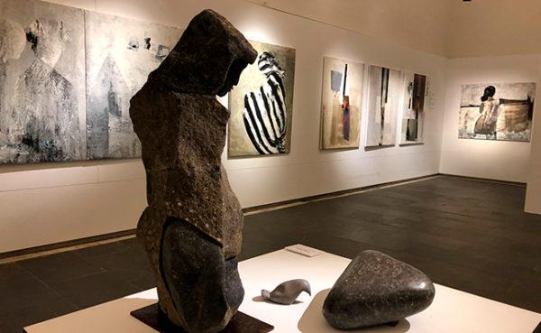 Exposició de Xavier de Torres a la Sala Oberta 2 del Museu de la Garrotxa.