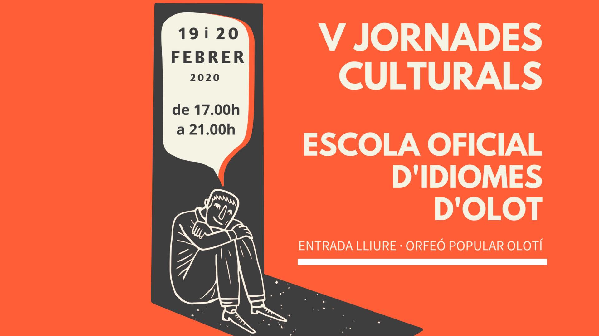 V Jornades Culturals de l'Escola Oficial d'Idiomes