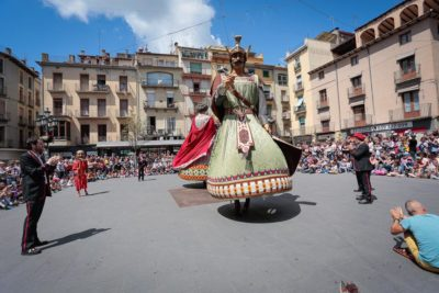 Ball dels Gegants d'Olot. Foto: Martí Albesa.