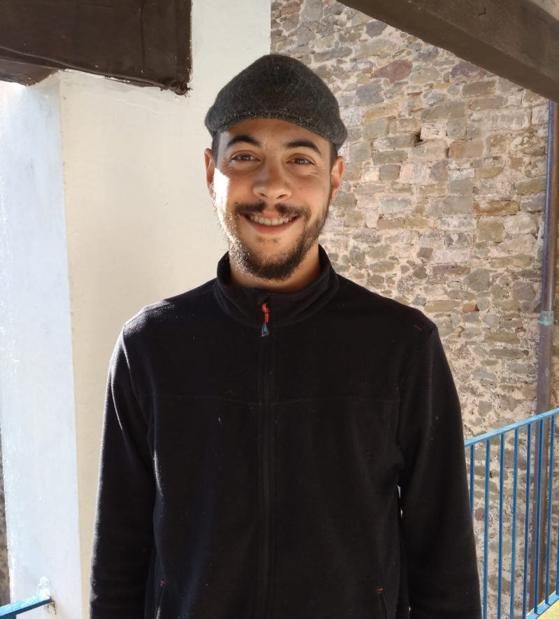 Guillem Roca, guanyador de la Beca Oriol de Bolòs 2017.