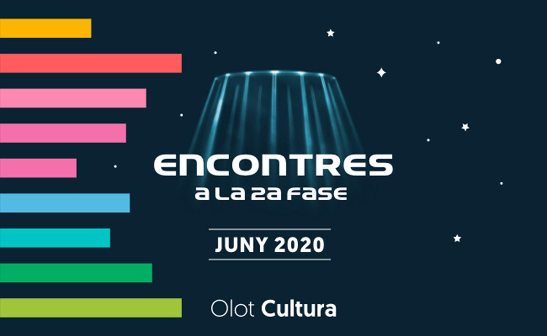 Olot programa un nou cicle d'activitats culturals adaptades al desconfinament: Encontres a la 2a fase