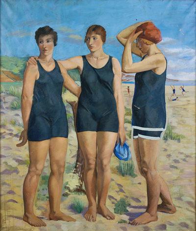 Les banyistes, de Francesc Vayreda.