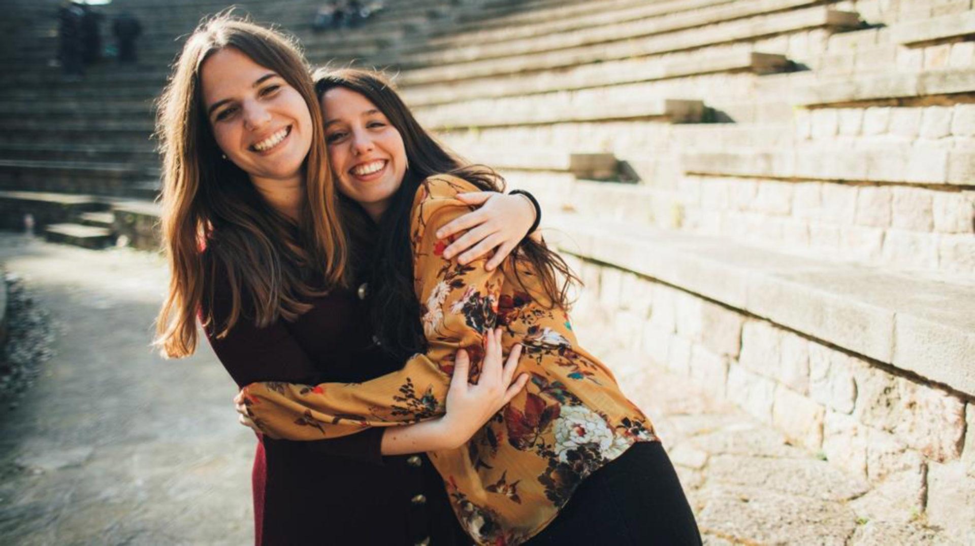 Sandra Bautista i Raquel Lua