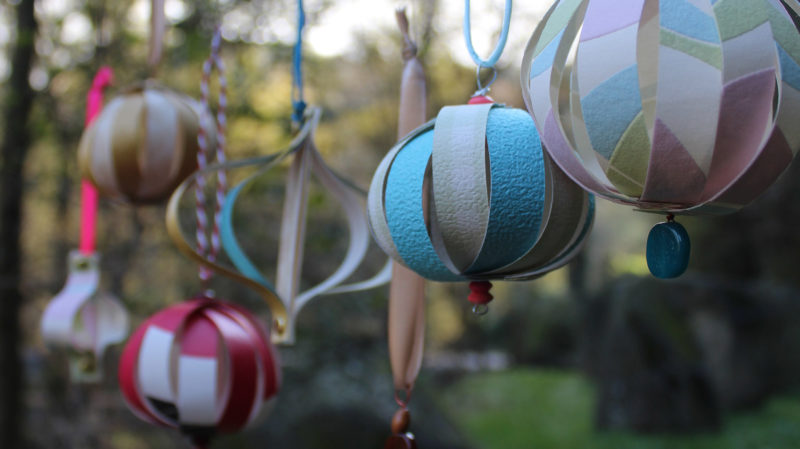 Taller de Nadal: Ornaments amb paper decorat