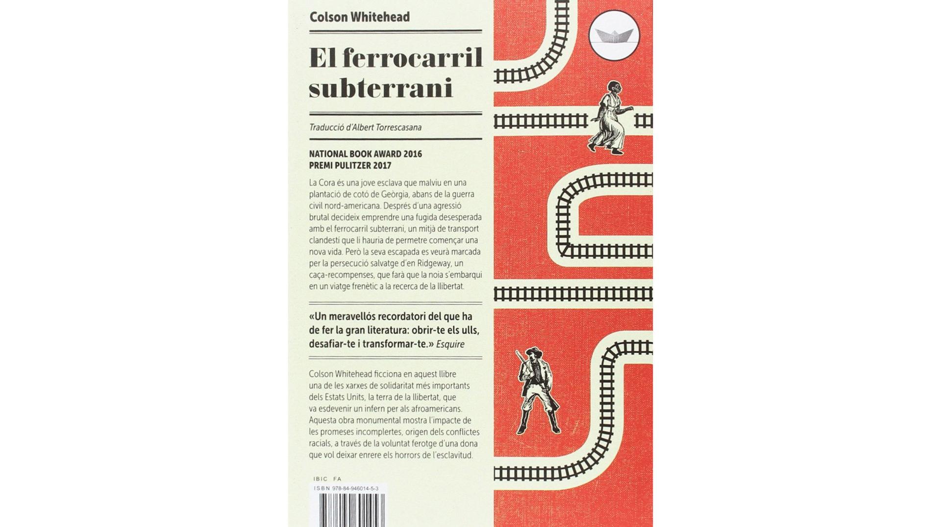Club de lectura d'adults: El ferrocarril subterrani