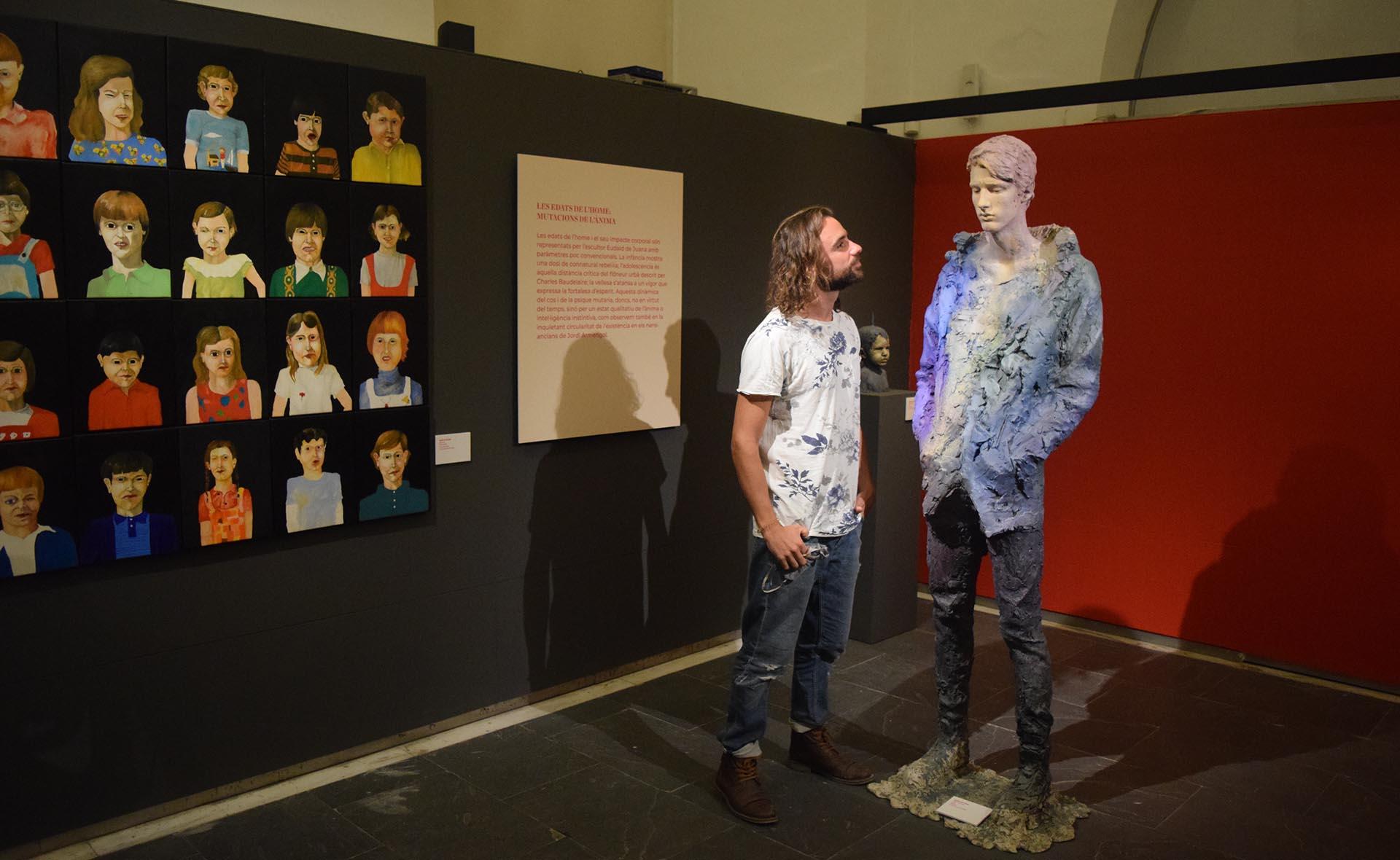 El Museu de la Garrotxa dedica una exposició a l'escultor Eudald de Juana