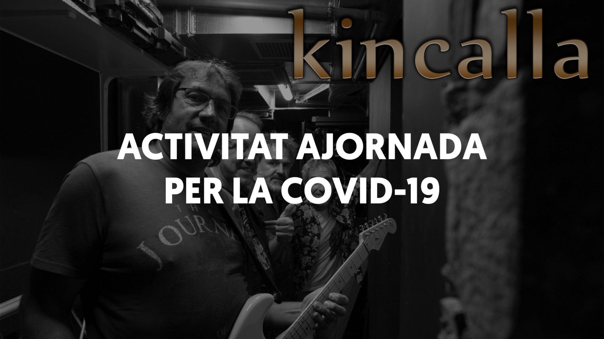 Concert de Kincalla i PDP Experience (Activitat ajornada)