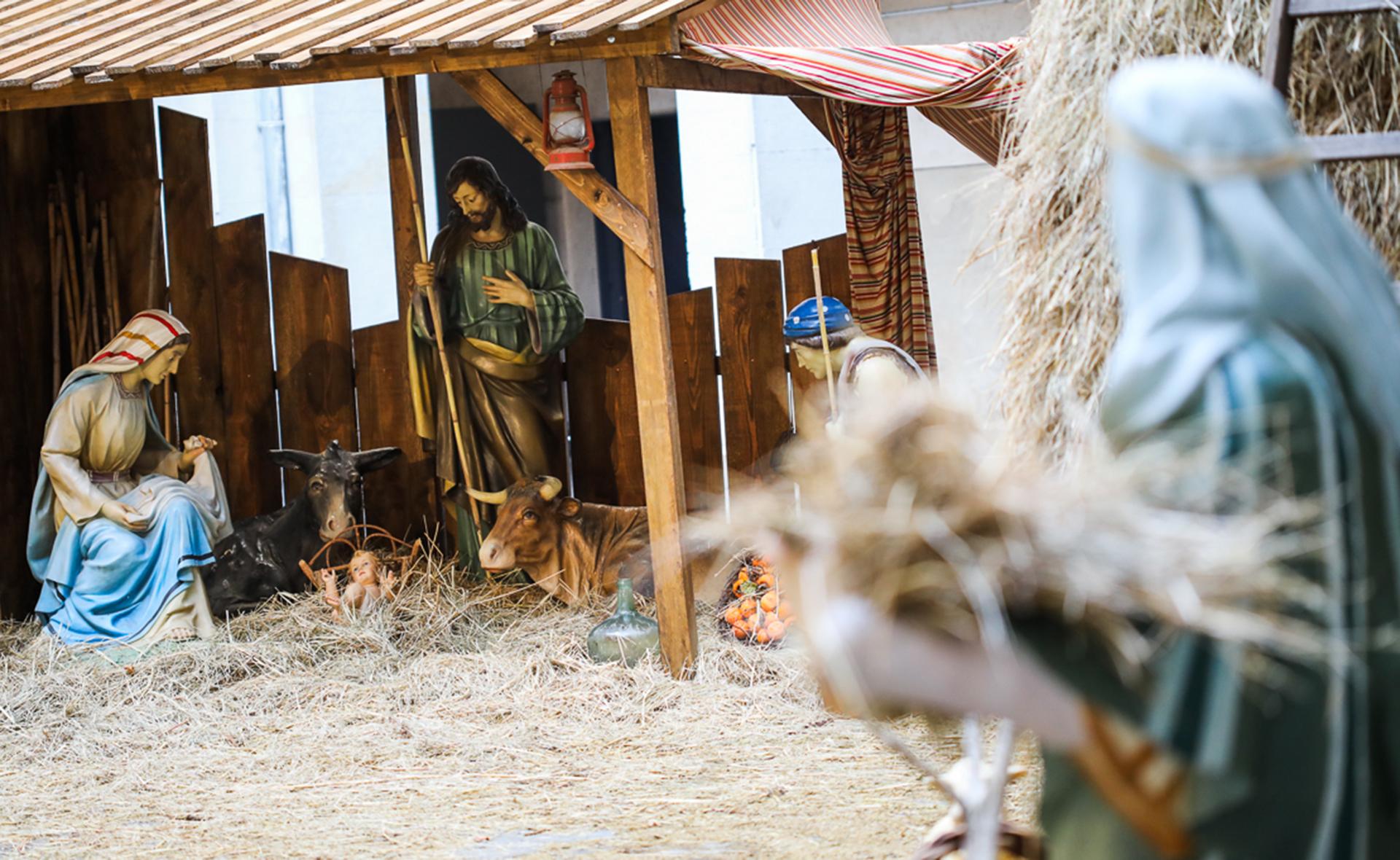 Els pessebres s'instal·len a Olot fins al 10 de gener