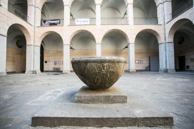 Pati de l'Hospici. Foto: Martí Albesa