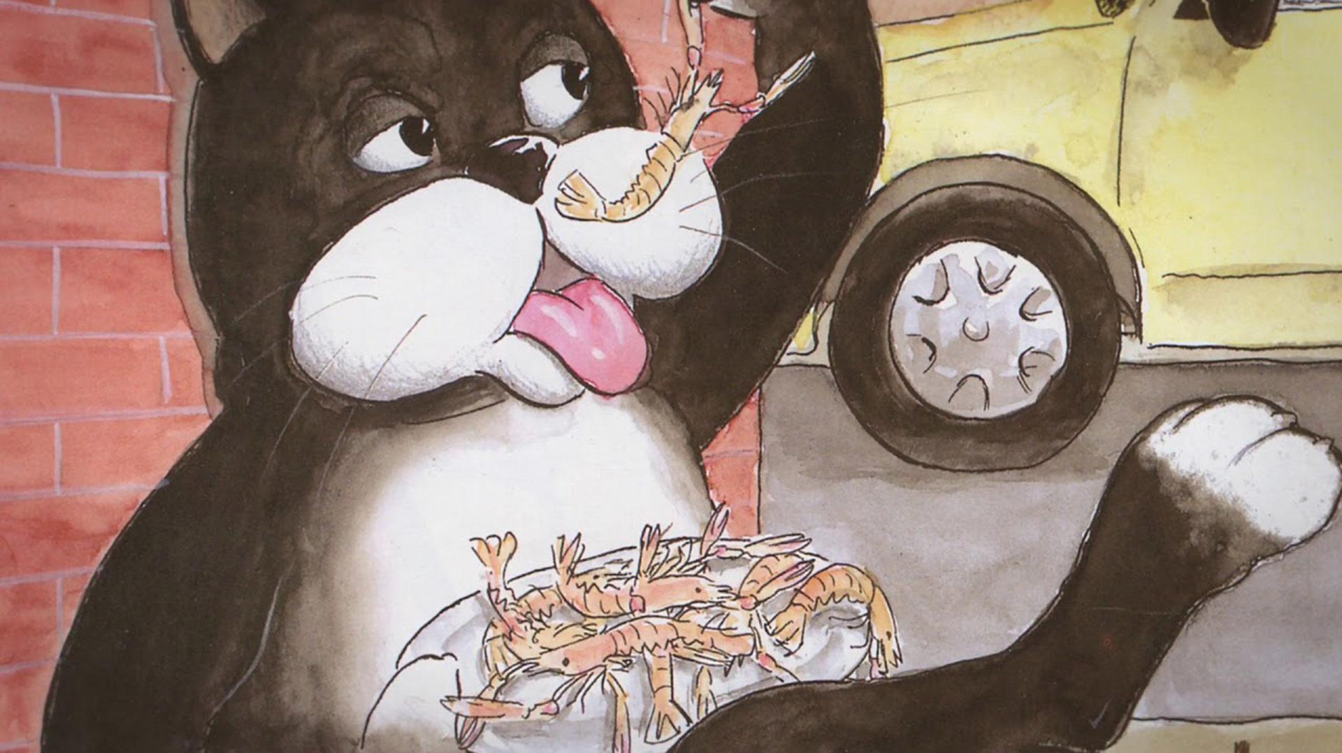 Hora del Conte: El gat i l'aiguat