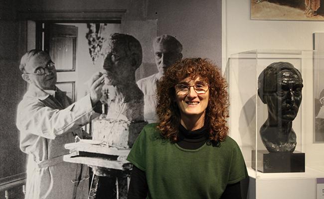 Montserrat Mallol, directora dels Museus d'Olot.