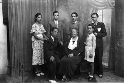 Fotografia de la Família Jaume d'Olot. Foto: AC Garrotxa.