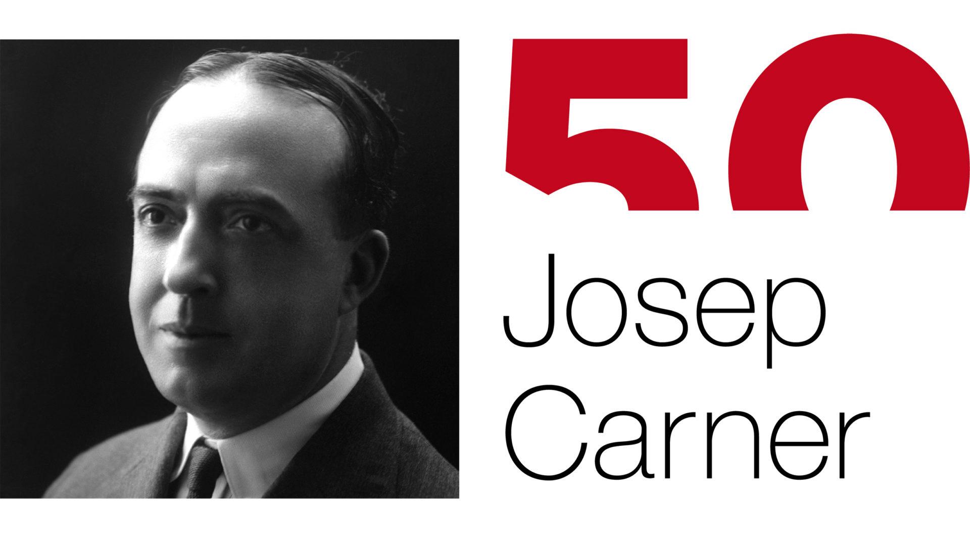 """""""Josep Carner. Dir molt en un mig dir seria mon afany"""""""
