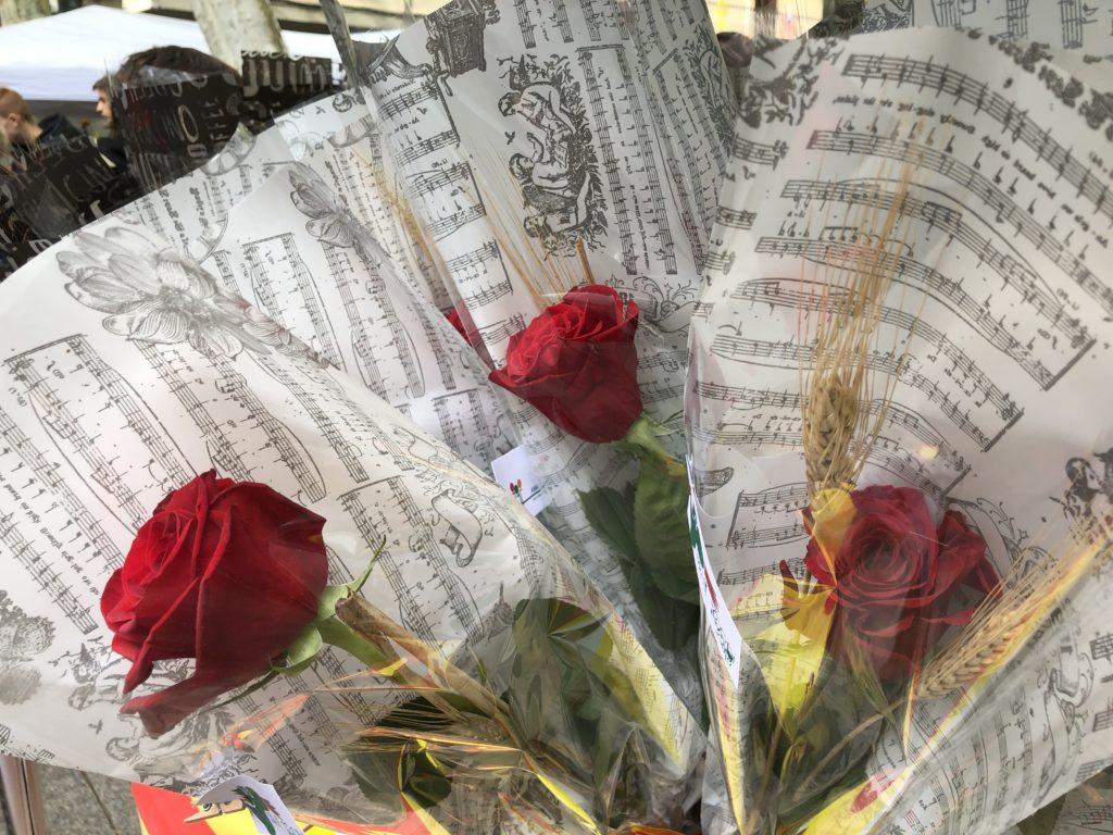 Roses de Sant Jordi.