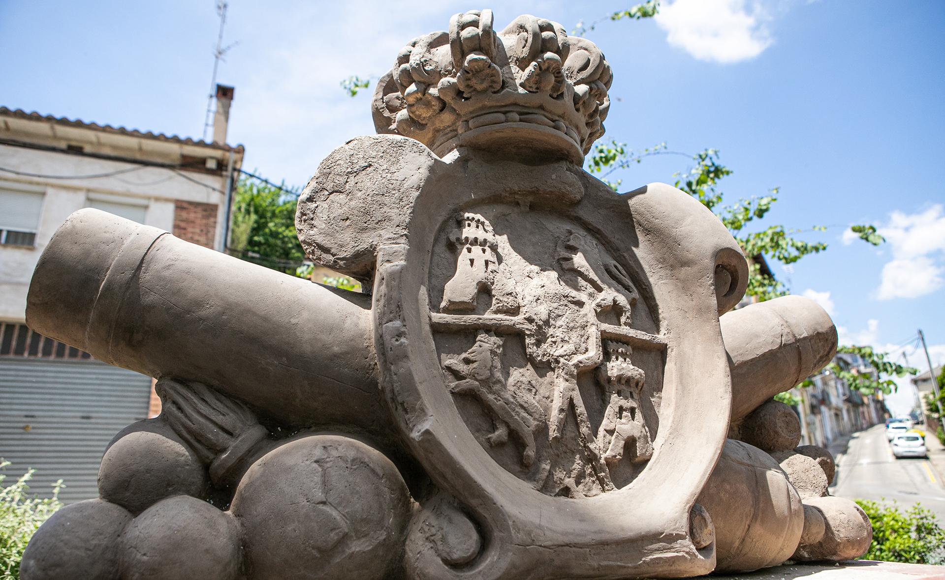Restauració del conjunt escultòric de l'antiga font de Sant Bernat