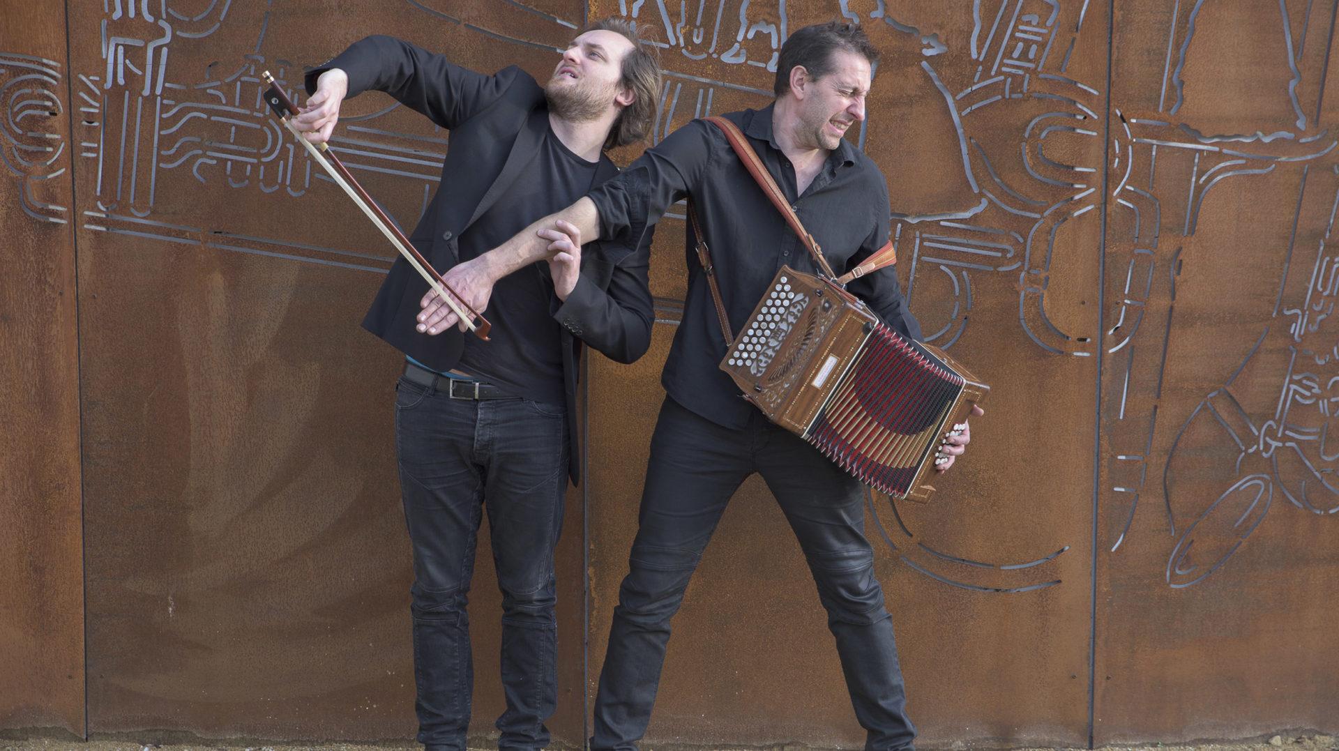 Didier Laloy i Adrien Tyberghein