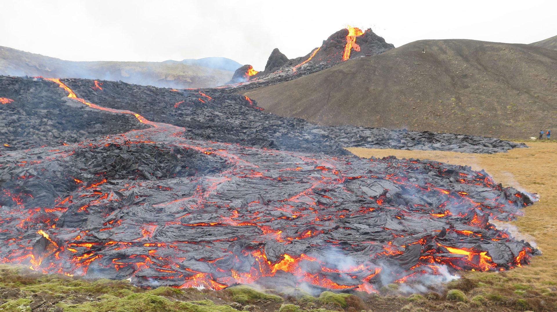 Les darreres erupcions volcàniques a Islàndia i el seu impacte