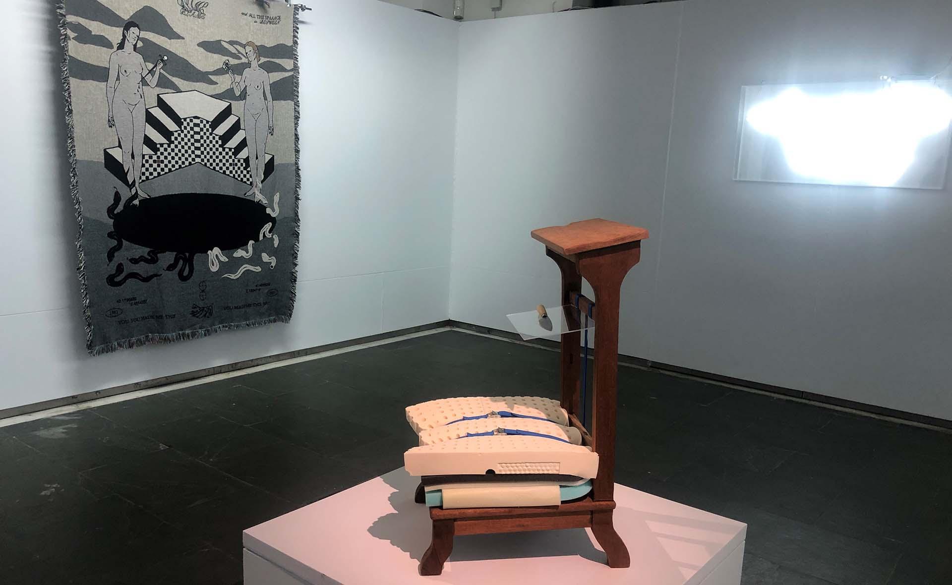 L'obra d'Alícia Vogel i Adrià Gamero i Casellas, exposada al Museu de la Garrotxa