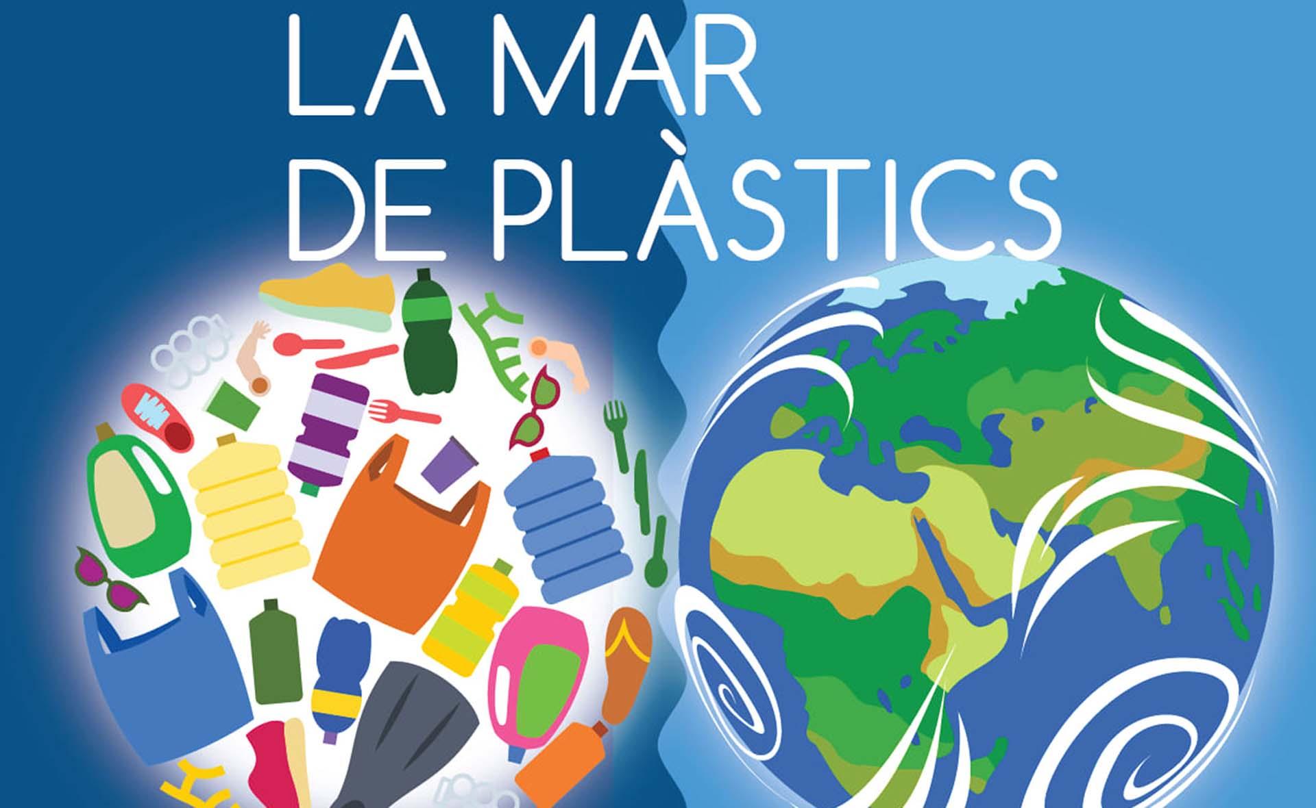 """La Biblioteca Marià Vayreda acull l'exposició """"La mar de plàstics"""""""