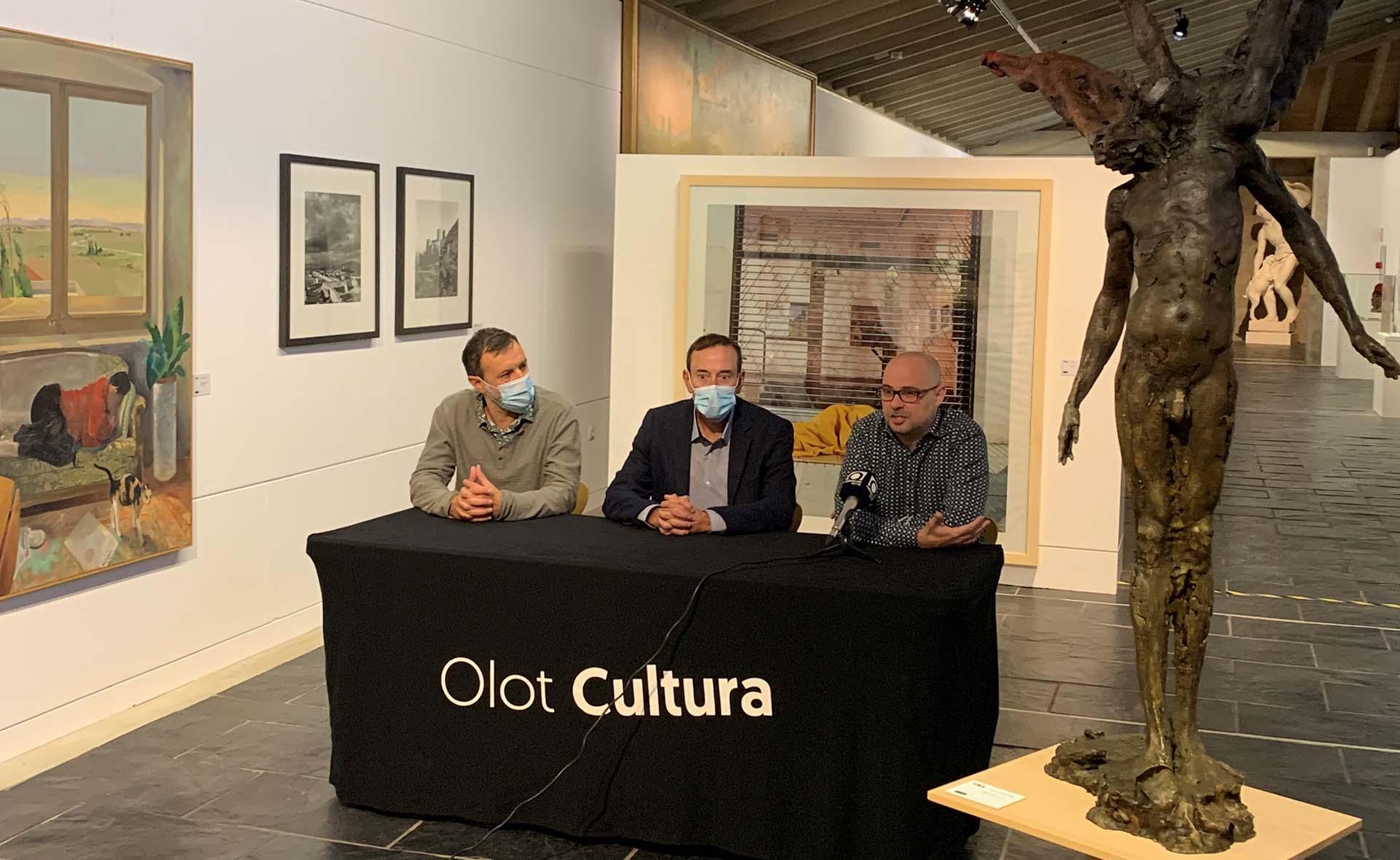 El Museu de la Garrotxa exposa 13 obres del Museu de l'Empordà