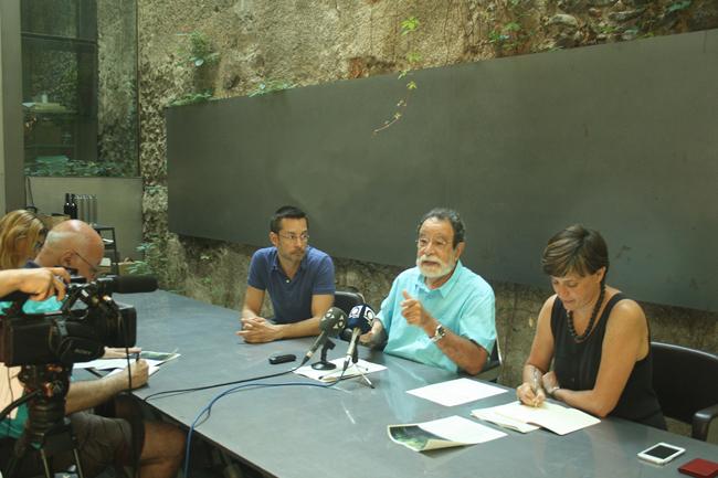 Roda de premsa presentació Workshop RCR