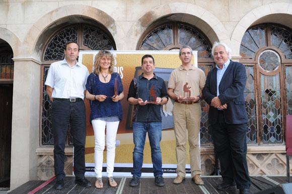 Guanyadors dels Premis Ciutat d'Olot 2014