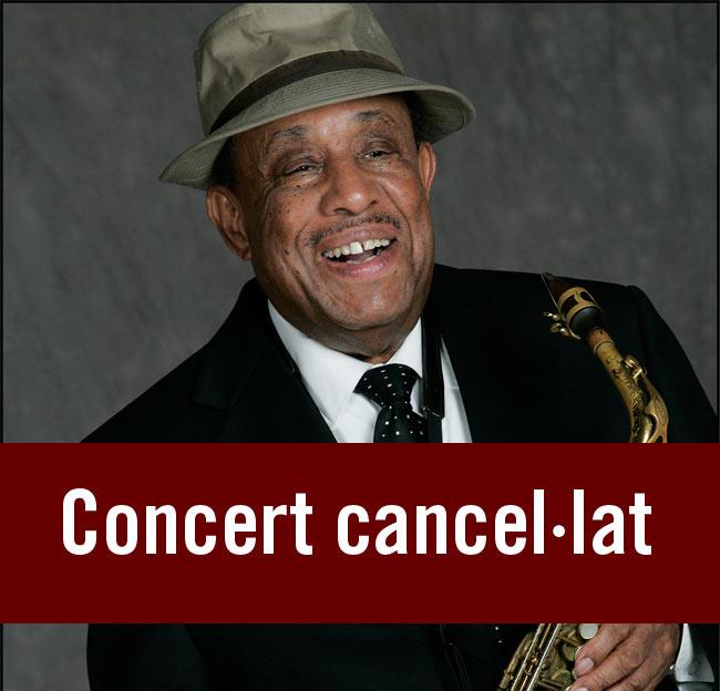 Cancel·lat el concert de Lou Donaldson a Olot